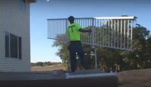 Aluminum Rail Installation