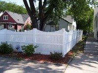(Photo 14) 3-Rail Scalloped Fence With New England Cap
