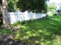 (Photo 20) 2-Rail Scalloped Fence
