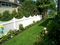 (Photo 24) 2-Rail Scalloped Picket Fence